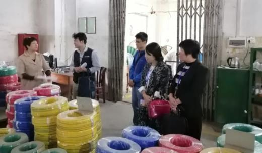 广西梧州市市场监管局对4家电线电缆企业进行专项检查