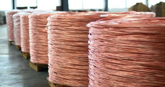 一季度我国精炼铜产量249万吨 同比增15.2%