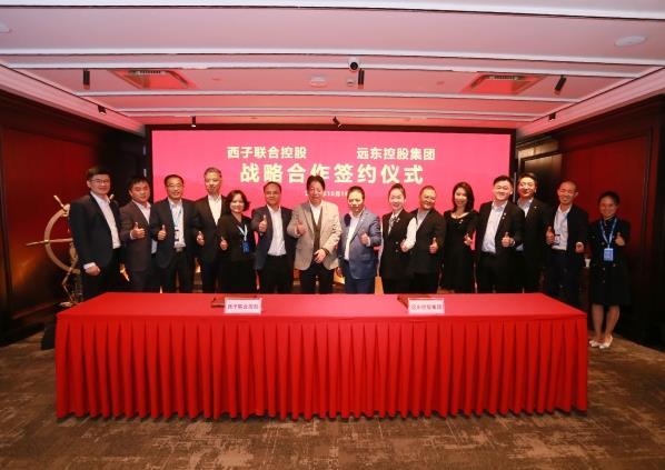 远东控股与西子联合签署战略合作协议