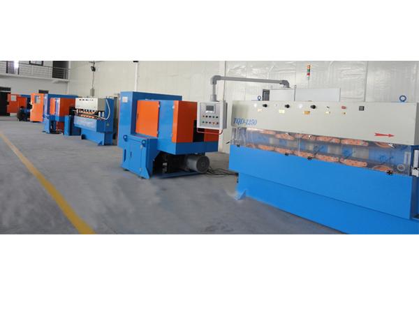 金属护套连续焊接轧纹生产线