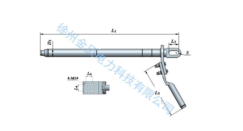 碳纤维导线耐张线夹