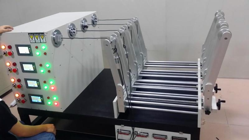 柔性运动拖链电缆扭转试验机(工业机器人柔性运动拖链电缆扭转试验机)