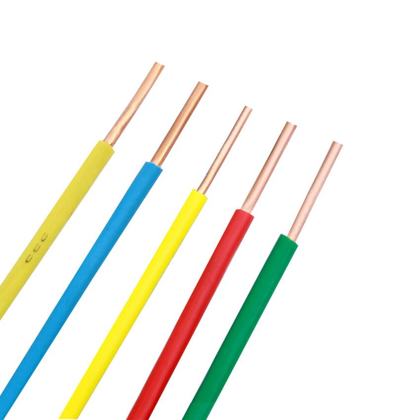 电线电缆厂家直销 家装家用bv布电线 国标铜芯阻燃电线