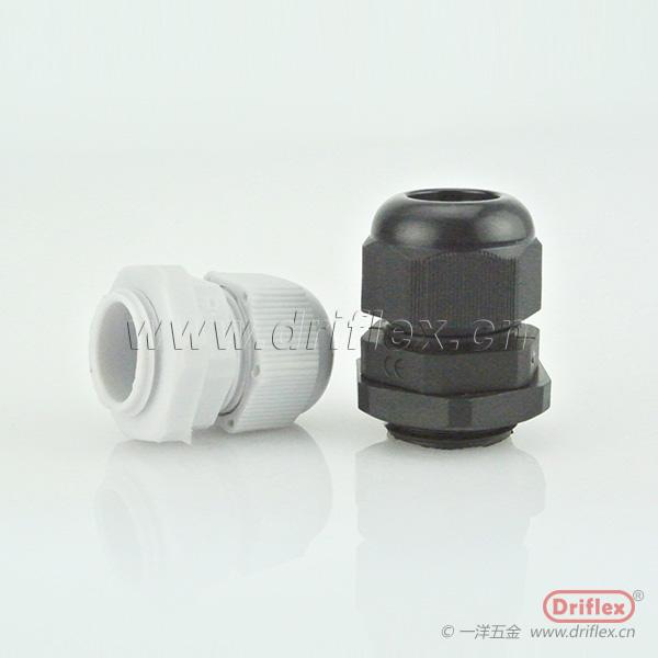 供应电缆接头 尼龙电缆接头 黑色/白色,电缆固定头