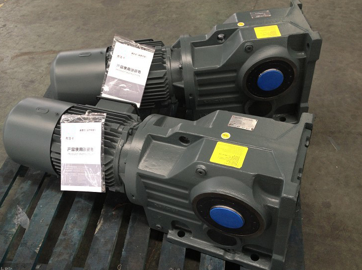 K系列斜齒輪螺旋錐齒輪減速機(齒輪磨齒,傳動效率高)