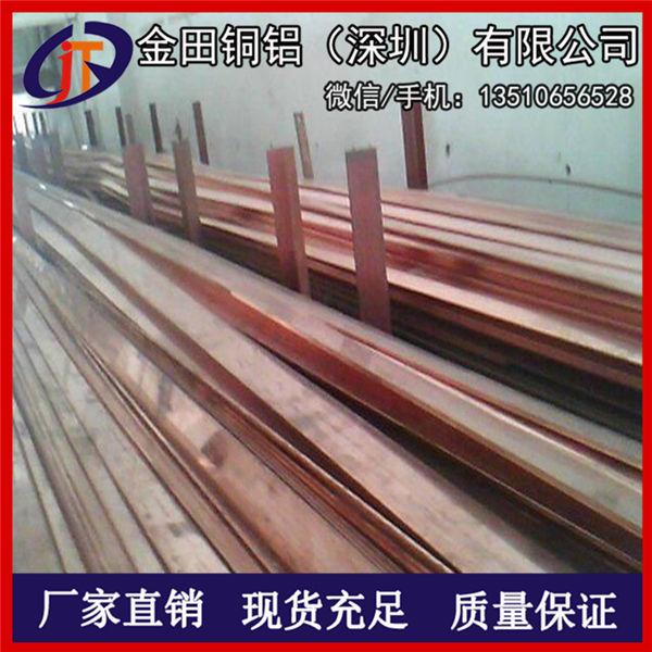 高纯度C1100紫铜扁条 T3镀锡紫铜排 电力专用T2紫铜排