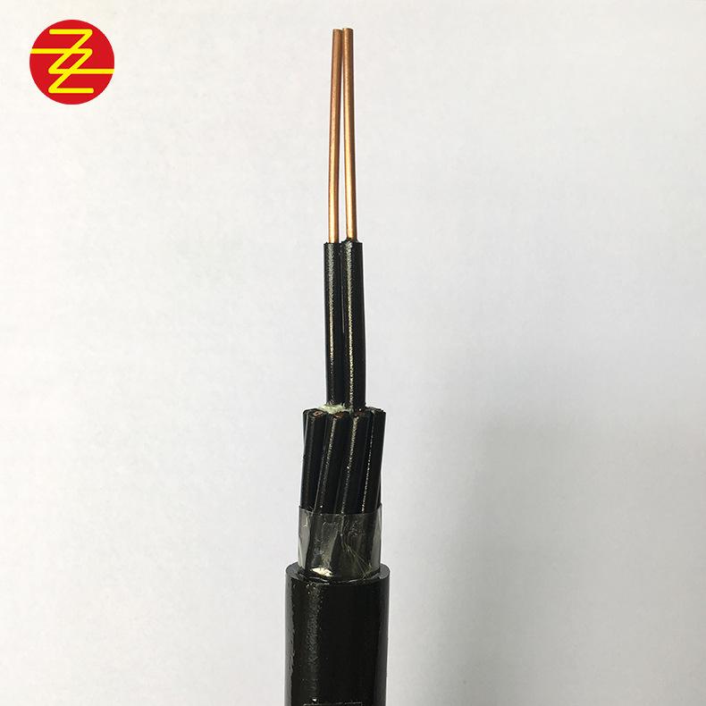 KVV10平方多芯纯铜阻燃电源线控制电缆