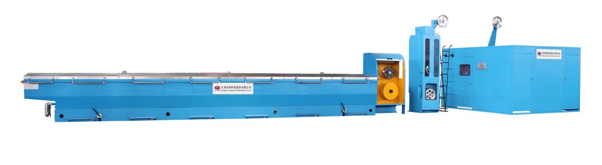 LHD450高速铝拉丝机