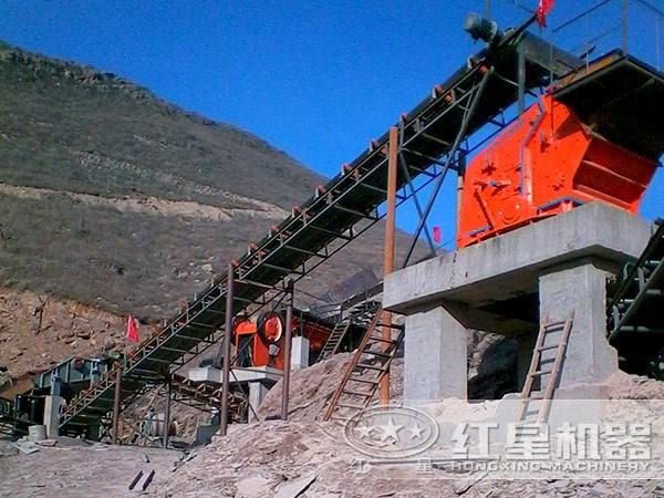 一小时处理两三百吨的山体石破碎机有哪些LYJ74