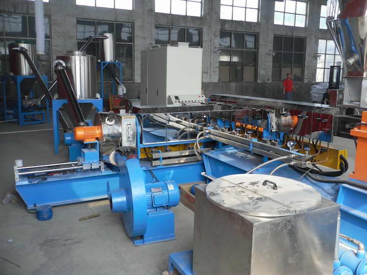 恭樂專業提供兩步法硅烷交聯電纜料造粒機