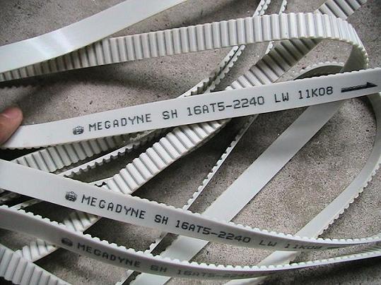 意大利MULCO聚氨酯加钢丝同步带透明卡夫拉线同步带