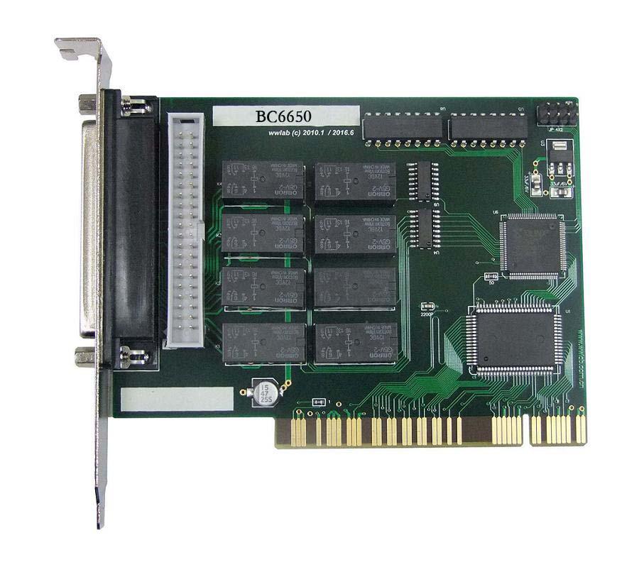 宝创源数据采集卡PCI总线io板BC6650 8路隔离输入
