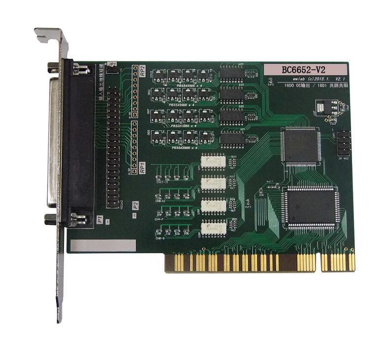 宝创源数据采集卡PCI总线io板BC6652D板简介