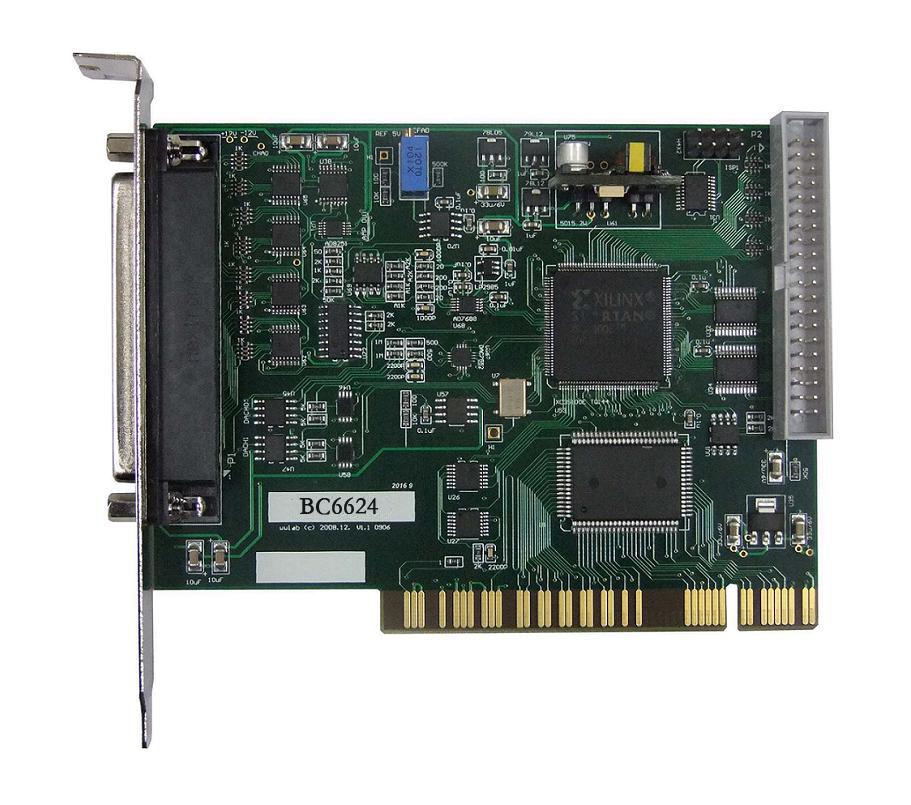 宝创源数据采集卡PCI总线AD板 BC6624 32路16位400K AD