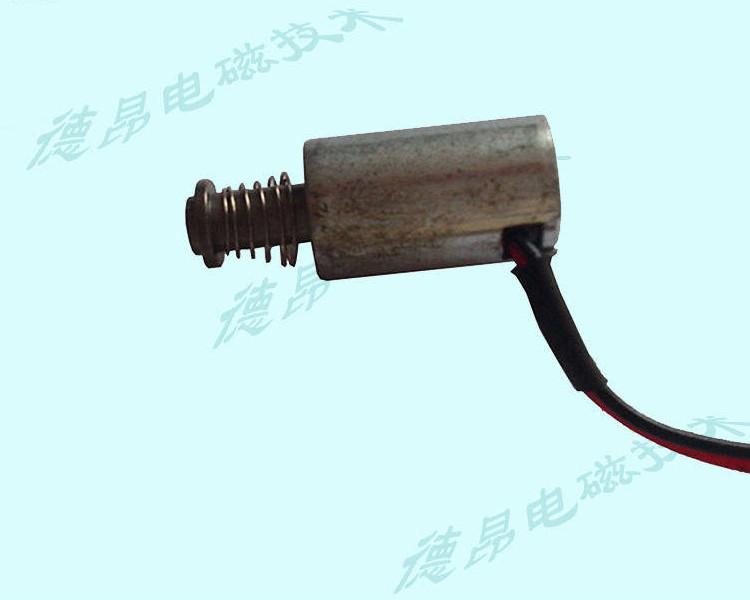 微小型DC6V锁用推拉功能电磁铁