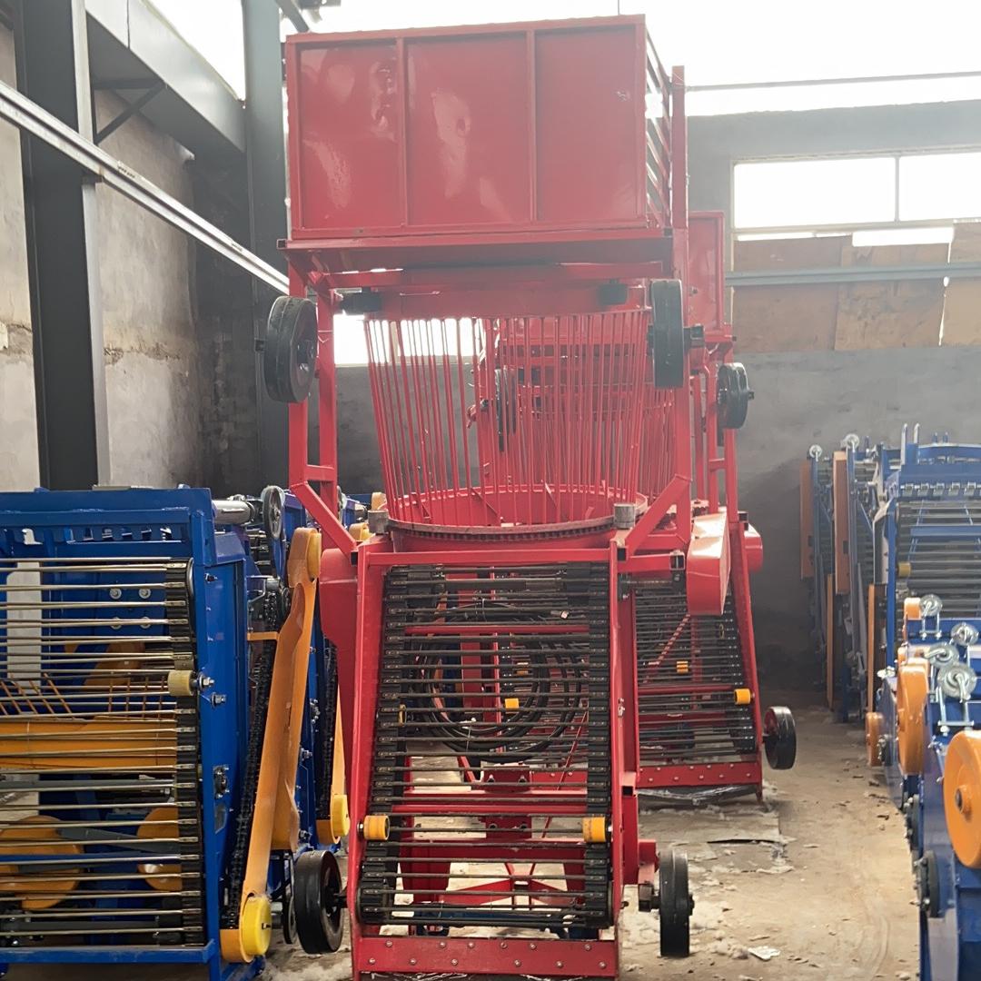 土豆玉米地膜回收机器  收获及残膜回收一体机  残膜捡拾回收一体机