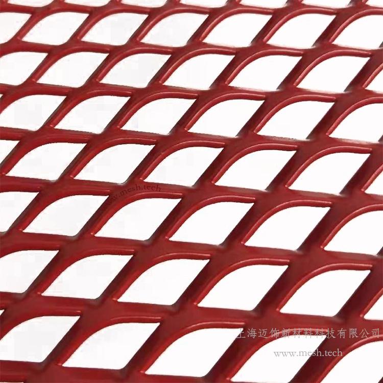 15*30*3mm拉网板装饰网_天花吊顶铝拉网