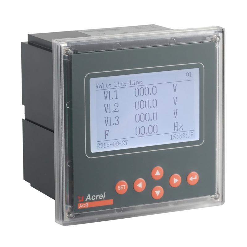 三相企业能耗管理表安科瑞ACR330ELH电流、电压不平衡度计算