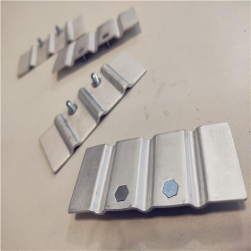 电气设备导电软铝排 铝软连接 铝箔软连接加工