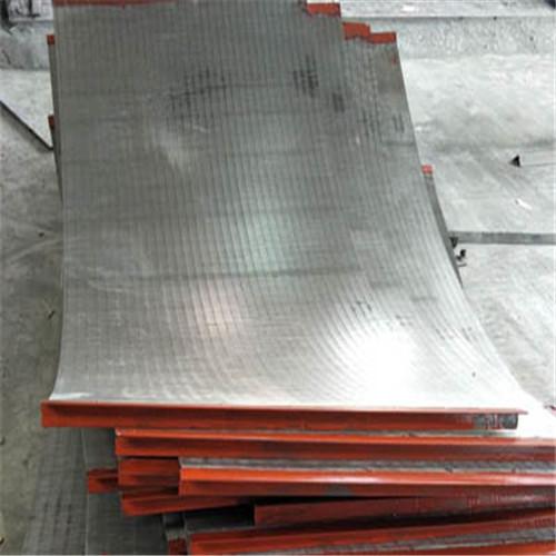 不锈钢绕丝条缝焊接式楔形矿筛板